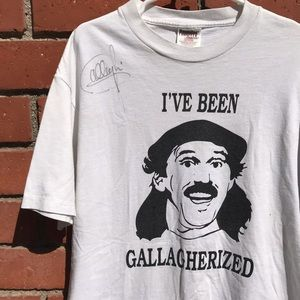 Other - Gallagher 2 I've Been Gallagherized Signed Tee